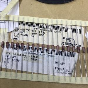 Image 2 - 50PCS VISHAY DALE CCF55 0.25W 10K 1% Metal Film Color Ring Resistors CCF 55 Series 10k 1/4W T 1