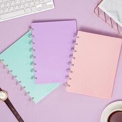A5 luźne liści Notebook proste uczeń luźne-leaf shape pamiętnik papieru grzyb otwór wymienny luźne liści Notebook biznesowy Notebook