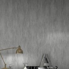 Papel de pared de textura en relieve liso de arroz negro gris moderno Simple Color sólido a prueba de agua sala de estar dormitorio Pared de papel tapiz