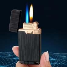 Ветрозащитный фонарь двойной пламени волшебной Зажигалка Бесплатная