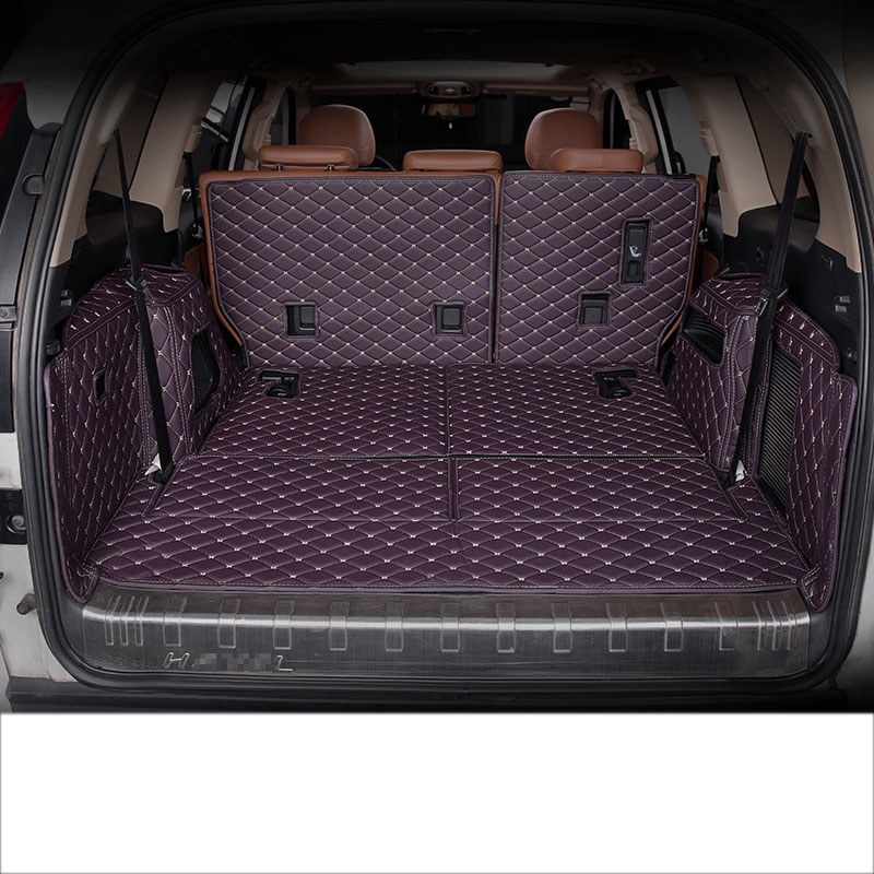 Lsrtw2017 For Great Wall Haval H9 Leather Car Trunk Mat Cargo Liner 2015 2016 2017 2018 2019 Rug Carpet Boot Luggage Accessories