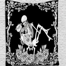 Background Cloth Tapestry Constellation Flower Wall-Hanging Skull Bedroom Nordic Yes