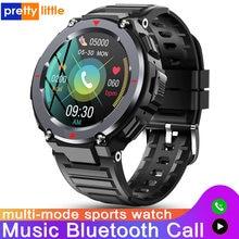 Novo S-25 chamada bluetooth relógio inteligente homem multi-modo esporte ao ar livre música jogar à prova dwaterproof água smartwatch ouvir monitor de taxa android ios