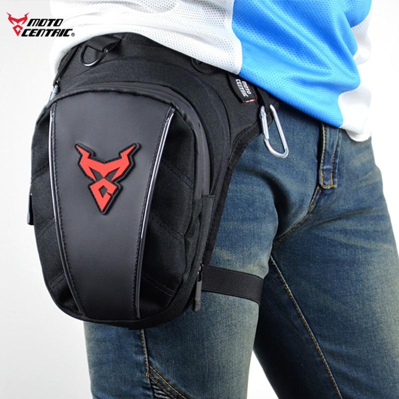 Men Motorcycle Rider Leg Bag Reflective Fanny Belt Pack Shoulder Cross Body Travel Waterproof Oxford Hip Bum Thigh Drop Waist Ba