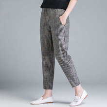 New Arrival Summer Women Pants Plus Size Fashion High Waist