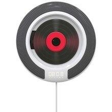 נגן CD נייד עם Bluetooth קיר Mountable FM רדיו מובנה HiFi רמקולים עם שלט רחוק לאוזניות