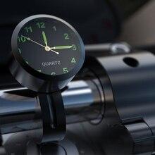Универсальный Водонепроницаемый часы с рисунком «велосипед» светятся в темноте часы мотоцикл алюминиевый сплав Циферблат мини для крепле...