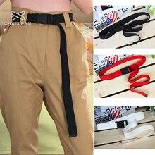 120 см яркие цвета, женский брезентовый мужской ремень с пластиковой пряжкой, Тактические длинные красные и черные ремни, унисекс, повседневные джинсы для мальчиков и девочек, ремни 148