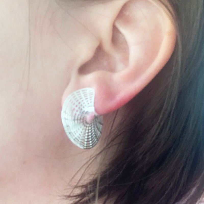 Minimalism Earrings 925 Silver Korean Earrings Jewelry Vintage Brincos Boho Pendientes Kolczyki Oorbellen Earrings for Women
