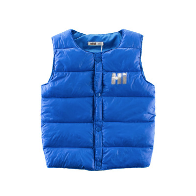 Jacket Vest Baby Boys Kids Winter Children Sleeveless Infant Autumn for Warm Outerwear-Coats