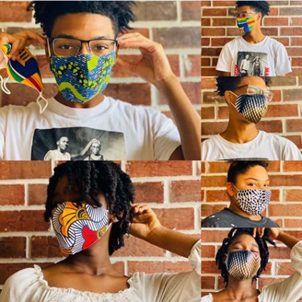 Face Mask Ankara Print Masks Face Masks Anti-bacterial Dust Cotton Cubre Bocas Masks