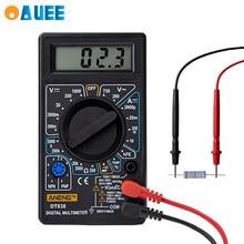 Miernik cyfrowy multimetr prądu LCD AC DC 750V 1000V cyfrowy Mini multimetr sonda dla woltomierz amperomierz miernik rezystancji miernik