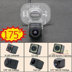 175 P 1080 Graus Fisheye câmera Do Reverso Do Carro Câmera de Visão Traseira Para Kia Forte Hyundai Verna Solaris Accent Backup de Estacionamento Sem Fio monitor de