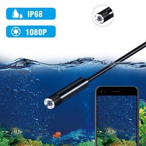 Image 4 - Le plus nouveau 1080P USB serpent Inspection caméra 2.0 MP IP67 étanche USB type c Endoscope avec 8 LED pour Samsung Huawei Xiaomi PC
