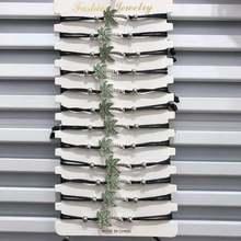 12 шт/компл модный и обтягивающий двухцветный плетеный браслет