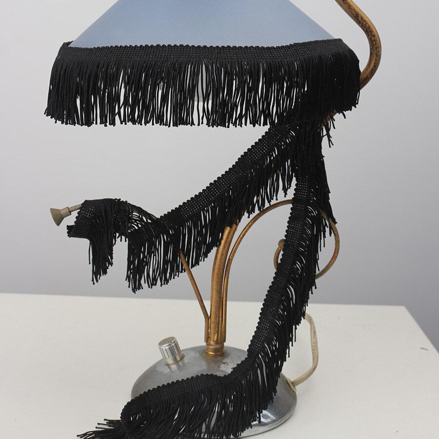 BEL AVENIR 1m/Bag Width 10cm Lace Curtain Accessories Stage Clothing Textiles Big Tassel Long Chainette Fringe Tassels Trimming