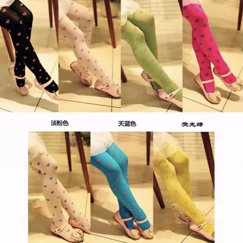 1pc/lot  Baby Girls Dacne Stocking Children Cute Colorful Cartoon Cotton Stockings 3-8Years 5