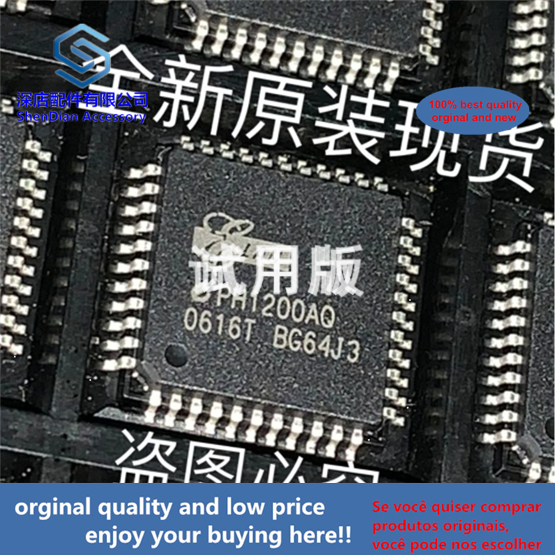 1pcs 100% Orginal And New PH1200AQ ELAN QFP44 EPH1200AQ Best Qualtiy