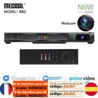 Mecool S905X4 KA2 Android TV con fotocamera Amlogic Box Android 10 DDR4 HD 2.1 4 K @ 60fps 2.4G e 5G dispositivo per altoparlanti per videochiamate