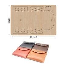 Sac métal artisanat articles matrices nouveau moule bois découpe matrice couteau moldé créatif Scrapbooking adapté aux Machines à grand tir