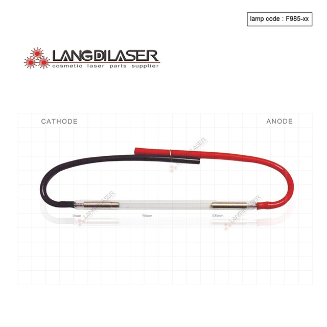 ipl lamp size 130*65*7(BL*AL*OD) wire (3 pieces order) lamp code F985 made in UK