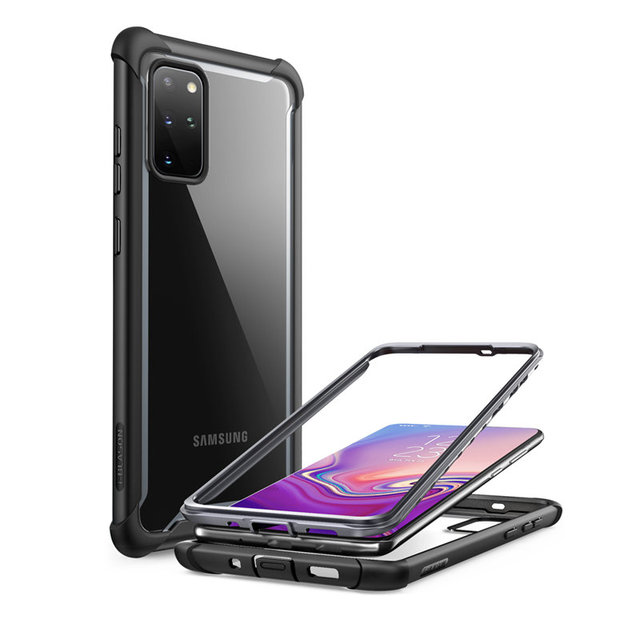 Funda para Samsung Galaxy S20 Plus/S20 Plus 5G, 2020, carcasa transparente resistente de cuerpo completo sin Protector de pantalla incorporado