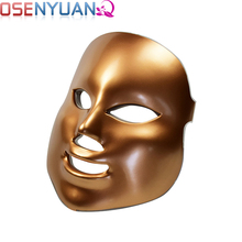 LED Facial Mask Electric Photon Facial Mask Microcurrent with Neck Skin Rejuvenation Anti Wrinkle Acne Removal Skin Care Beauty portable home use deep pores cleasing wrinkle removal ultrasonic bio microcurrent led photon beauty device