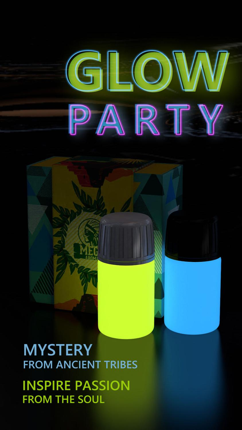 2 PCs 30ml R.S. Glow Party Delay Spray For Men Sex Liquid Long-lasting Gay Anal Sex Gel Toy Lesbian Party Increase Climax Libido