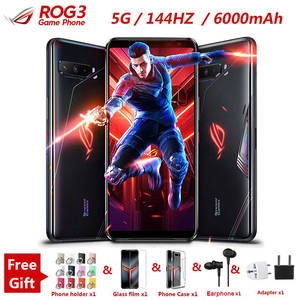 Asus ROG 3 5G 512GB 12gbb GSM/5G/CDMA/.. Nfc Quick Charge 4.0 Octa Core Fingerprint recognition/In-screen fingerprint recognition/Face recognition
