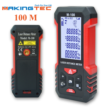 MAKINGTEC Laser Rangefinder Distance Meter 40-100M Laser Meter Roulette Measure Tape Range Finder Digital Measuring Tape Device makingtec laser meter laser distance meter 40m60m laser rangefinder laser measure digital measuring tape range finder roulette