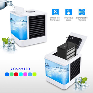 Image 5 - Air Cooler  Mini Air Conditioner Solar Fan Mine Fan Air Personal Space Cooler Air Conditioner Fan Air Cooling Fan Home fan