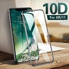 Oem 10D Volledige 0.3 Mm Beschermende Glas Screen Protector Gehard Film Voor Iphone Xr/11