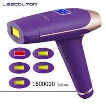 Electric Epilator Laser-Hair-Removal-Machine Lescolton IPL Flashes Permanent T009X 1600000