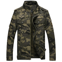 Men's Jacket Casual Cotton Multi-Pocket Pilots Camo Jacket Men's Classic Thick Outdoor Coat Men's New Bomber Jacket Windbreaker camo multi pocket patches design drawstring hooded jacket