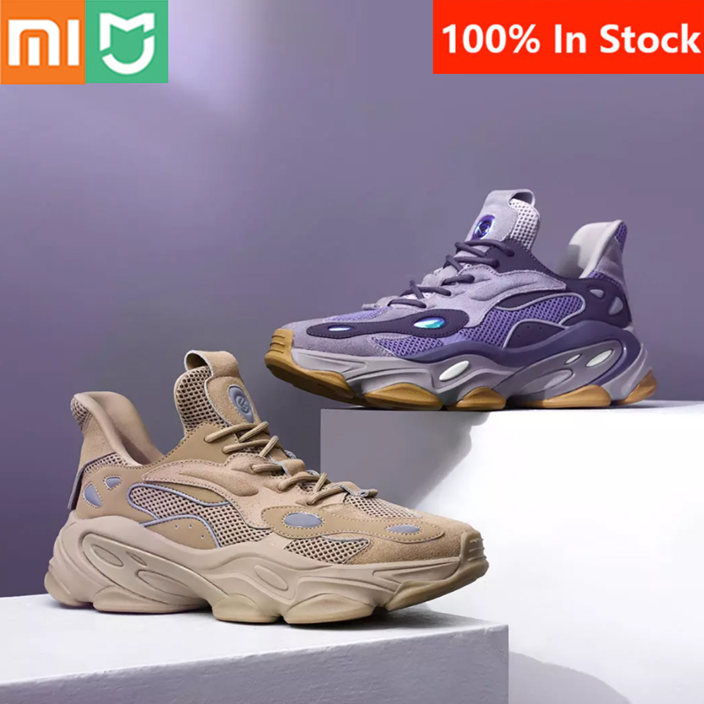 2020 Newest Xiaomi Mijia Freetie Fashion Casual Sneaker Shoes Durable Suede Upper Reflective Darkness Comfortable Shoes Hot Promo 9176 Cicig