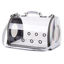 Дышащая переносная сумка-переноска для домашних животных, сумка для путешествий, сумка для щенков, кошек, прозрачный космический рюкзак для домашних животных, сумка для питомцев, сумка для переноски кошек