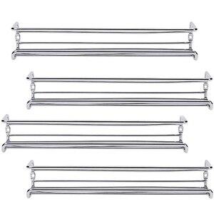 4 шт. настенное крепление дверных шкафов для специй одноуровневые подвесные органайзеры для специй стеллажи для кладовки кухонный настенны...