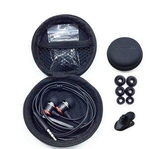 Image 4 - מקצועי ספורט אוזניות סופר בס אוזניות בקרת מיקרופון סטריאו אוזניות בתוך אוזן ספורט אוזניות 3.5mm