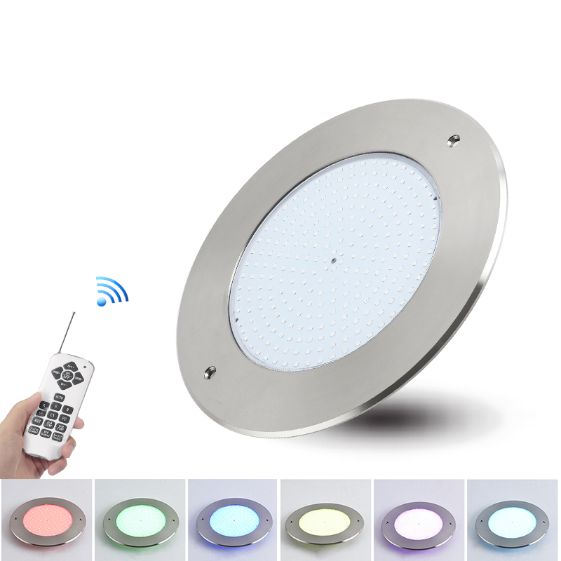 Led-Pool-Light Underwater-Light Remote-Control Ip68 Led Stainless-Steel RGB Resin AC
