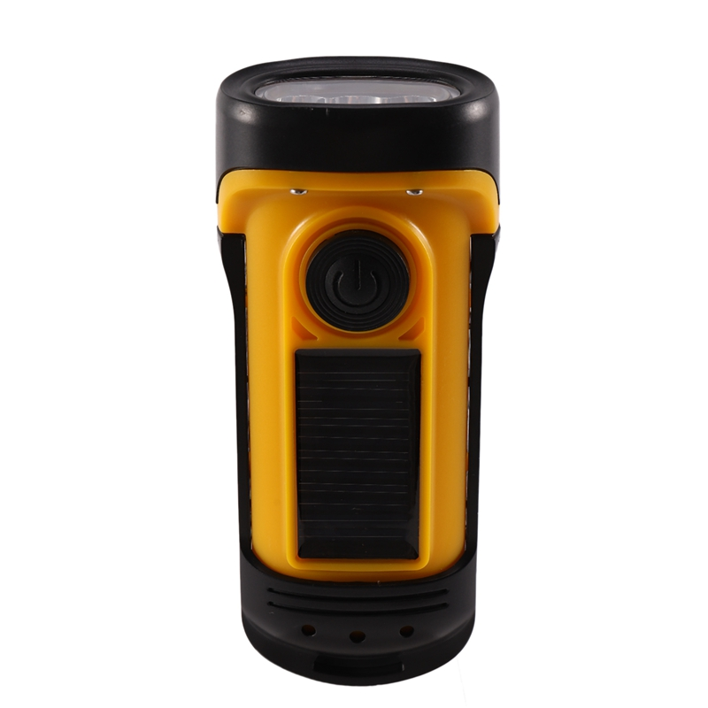 Portable FM Flashlight <font><b>Radio</b></font> Support Led Emergency Lighting Hand Crank Generator <font><b>Radio</b></font> Dynamo Power Supply <font><b>Radio</b></font> image