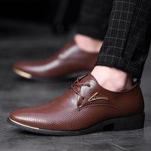 38 48 mens נעליים רשמיות נוח עסקים אופנתי אדון של נעליים רשמיות גברים #066