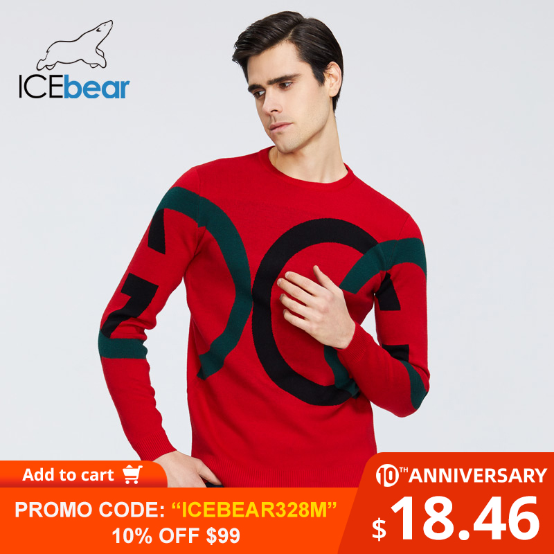 ICEbear 2020 New Men's Sweater High Quality Male Apparel Autumn Men's Clothing 1815