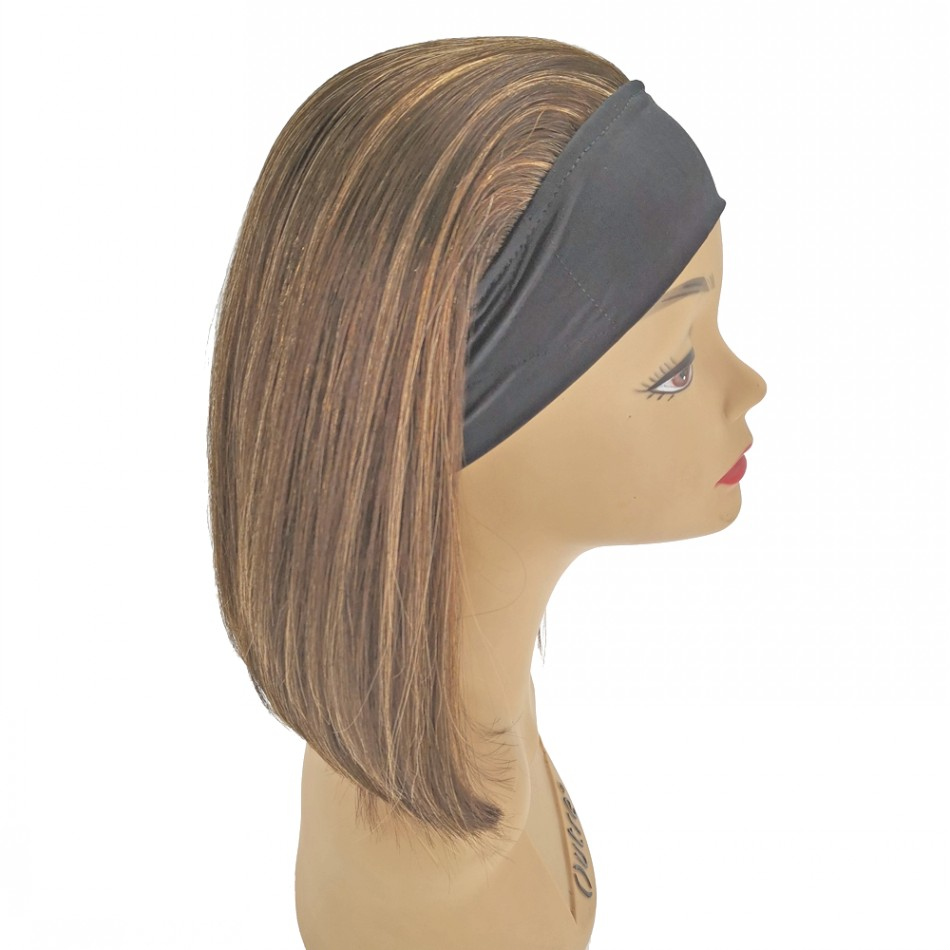 Straight Headband Wigs Cheap Factory Prices Brazilian Human Hair Extensions For Women