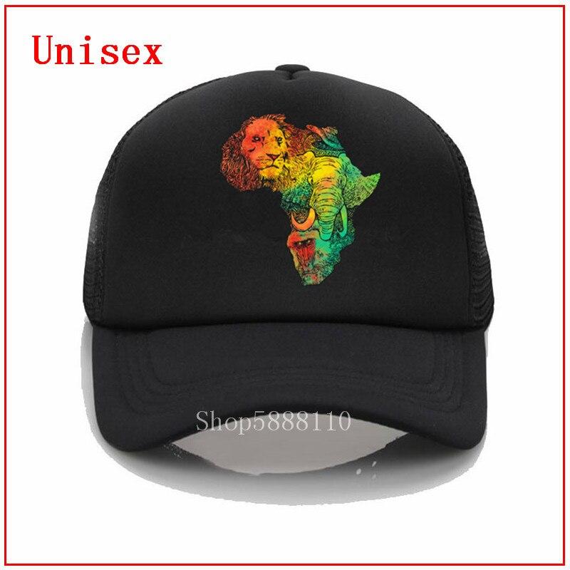 Adult Mesh Caps Hats Adjustable for Men Women Unisex,Print Elephant On The Wall