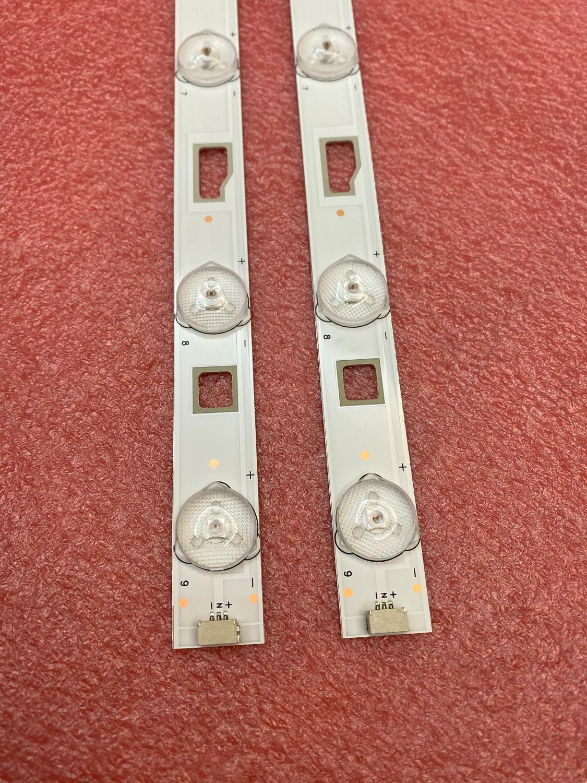 New 2 PCS/set 9LED 577mm LED Backlight Strip For D32TS7202 32HR331M09A5 V1