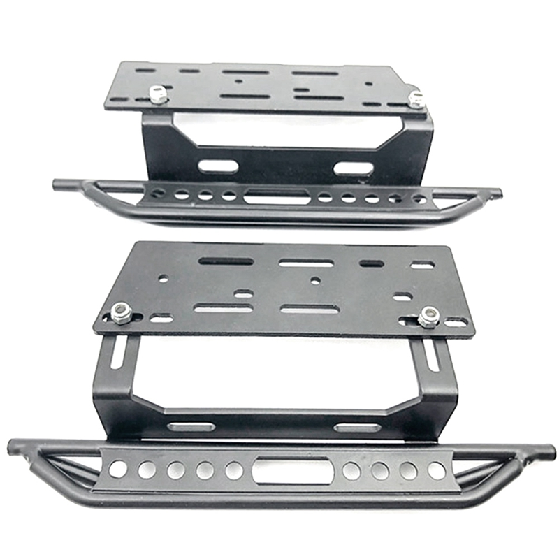 2PCS Metal Side Pedal Plate SCX10 for 1/10 Scale RC Crawler Axial II 90046 Car Parts