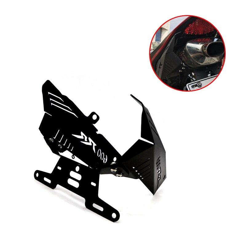 Support de plaque d'immatriculation de moto pour HONDA CBR 600RR CBR600RR 2007-2011 support de garde-boue éliminateur accessoire de moto