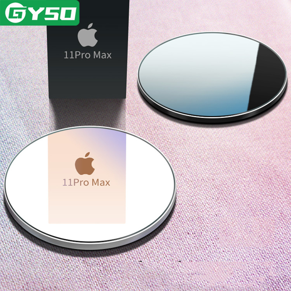 GYSO 20W Schnelle Qi Drahtlose Ladegerät Pad für iPhone 12 11 Pro 8 X XS Samsung S10 S9 Hinweis 8 9 drahtlose Lade Quick Charge Adapter