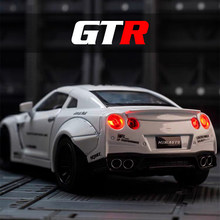 GTR Metal Diecasts Model Cars Toys for Children Boys Adults Fast and Furious Collection Mockup Car Toy Gift for Kids Man(China)