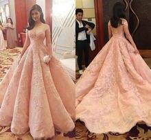 Арабский Абайи розовое Роскошные платья для выпускного вечера